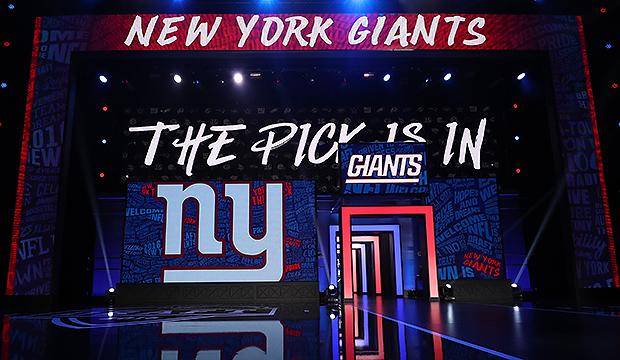 2017 NFL Football Draft NY Giants