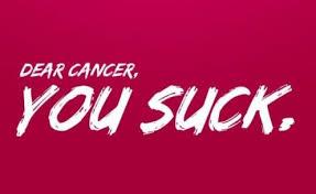 Dear Cancer You Suck