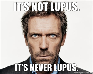House: Its Not Lupus