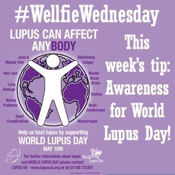 Wellfie Wednesday: Lupus
