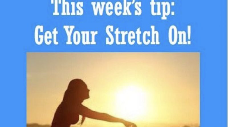 Wellfie Wednesday: Stretch