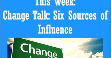Wellfie Wednesday: Change Talk