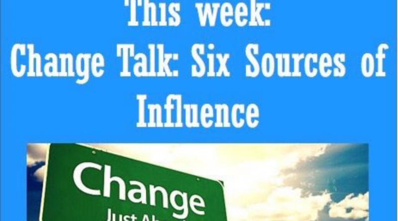 Wellfie Wednesday: Change Talk
