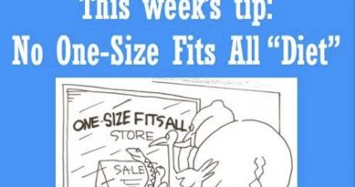 Wellfie Wednesday: One Size Does Not Fit All