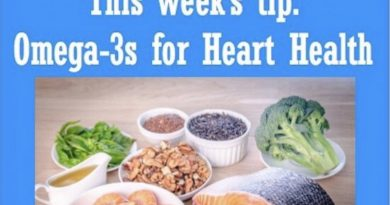 Wellfie Wednesday: Omega-3s