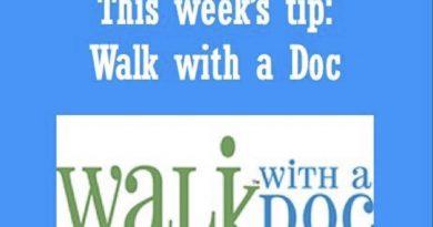 Wellfie Wednesday: Walk With A Doc