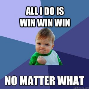 All I Do Is Win, Win, Win, No Matter What