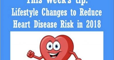 Wellfie Wednesday: Lifestyle Changes to Reduce Heart Disease Risk