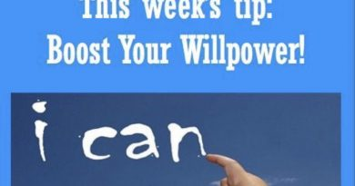 Wellfie Wednesday: Willpower