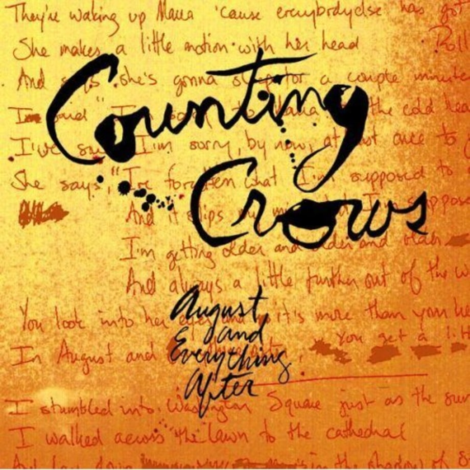 Life Changing Album: August and Everything After by Counting Crows