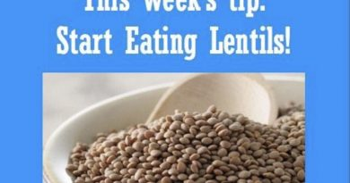 Wellfie Wednesday Blog Post: Should You Start Eating Lentils