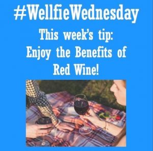 Wellfie Wednesday: Red Red Wine