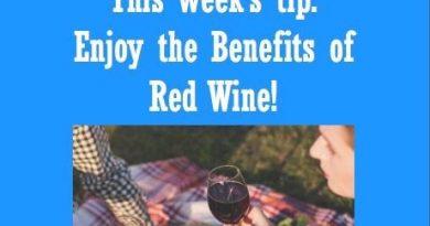 Wellfie Wednesday: Red Red Wine