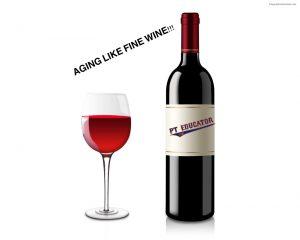 Aging Like Fine Wine