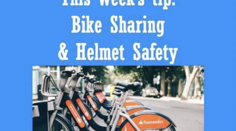 Wellfie Wednesday Blog Post: Bike Sharing & Helmet Safety