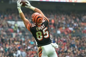 TE...No Not Tight End...Tyler Eifert...Oh Wait...