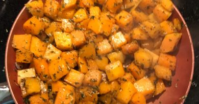 Foodie Friday Blog Post: Whole 30 Compliant Butternut Squash