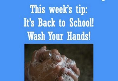 Wellfie Wednesday Blog Post: It's Back to School! Wash Your Hands!